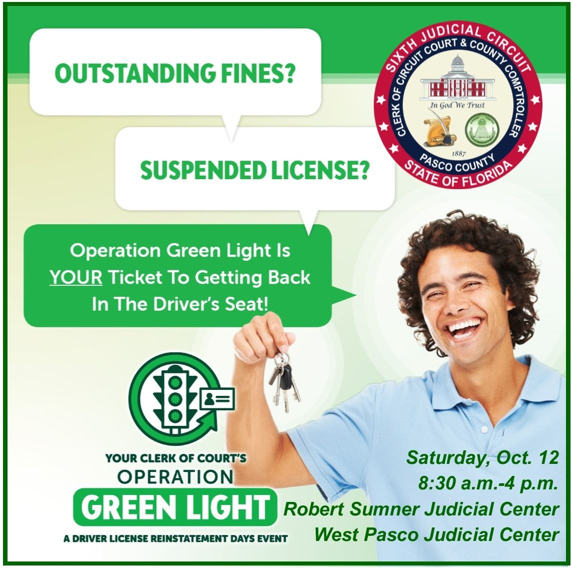 Operation Green Light helps drivers with suspended licenses get back behind the wheel.