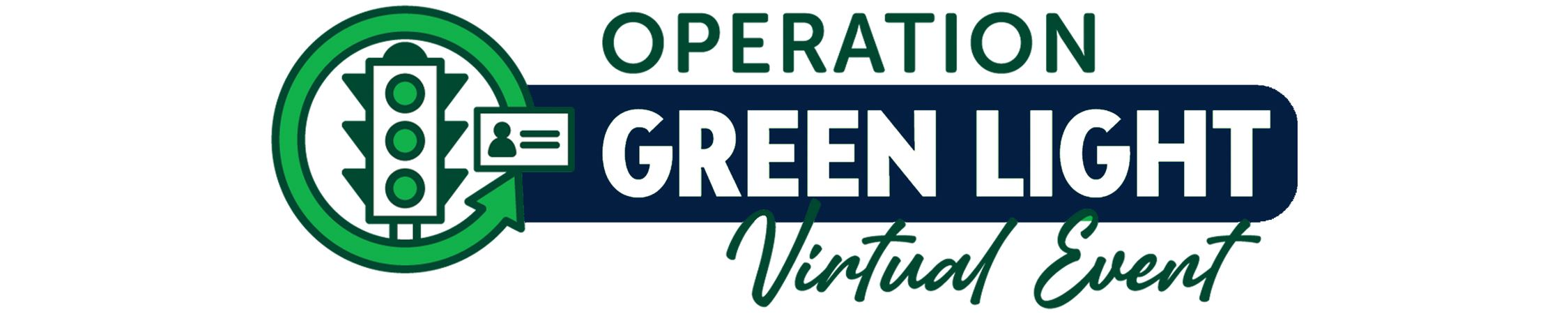 Operation Green Light Virtual Event Brand Image